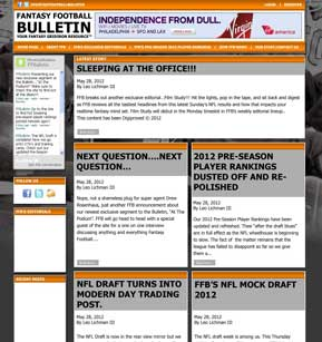 Fantasy Football Bulletin